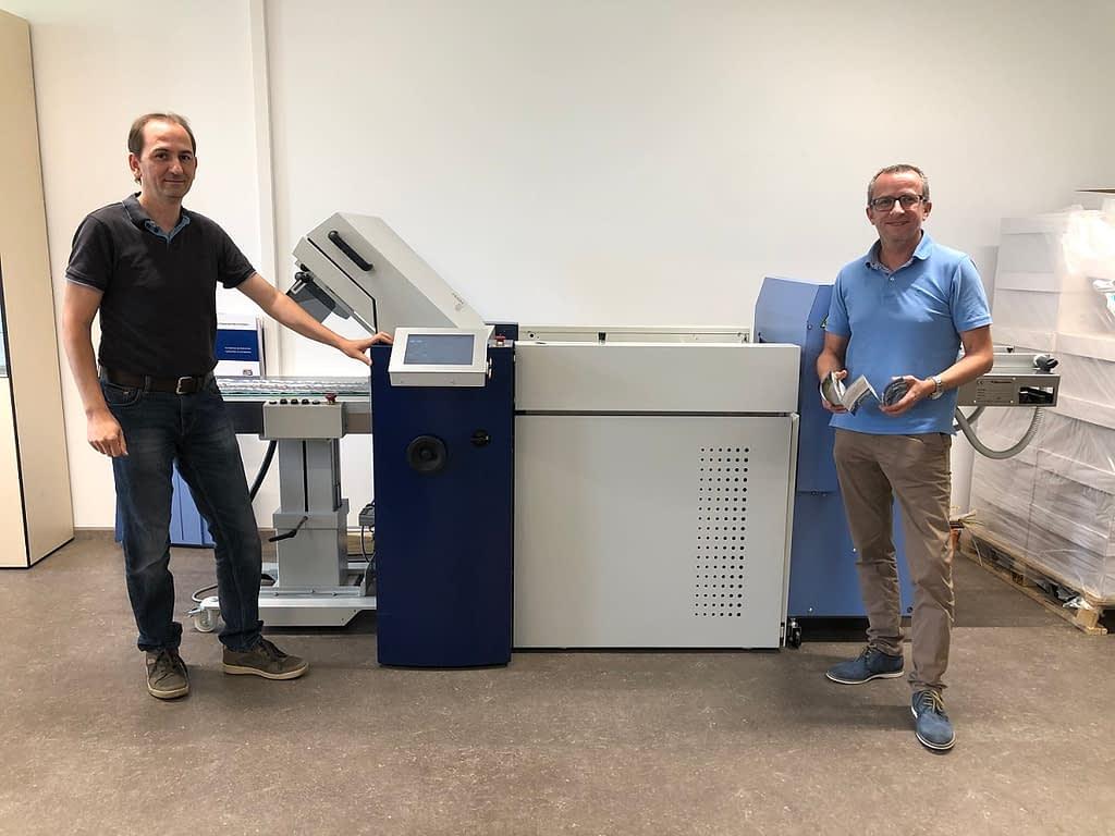 Latzer Falzmaschine - Latzer Druck & Logistik