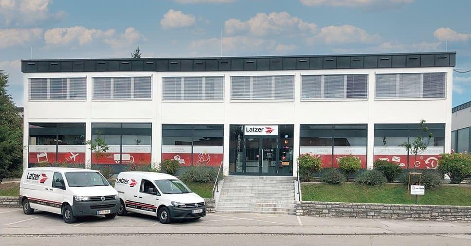 Latzer Salzburg aussen - Latzer Druck & Logistik