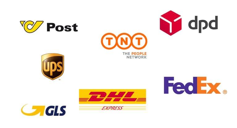 Paketdienst Logos - Latzer Druck & Logistik