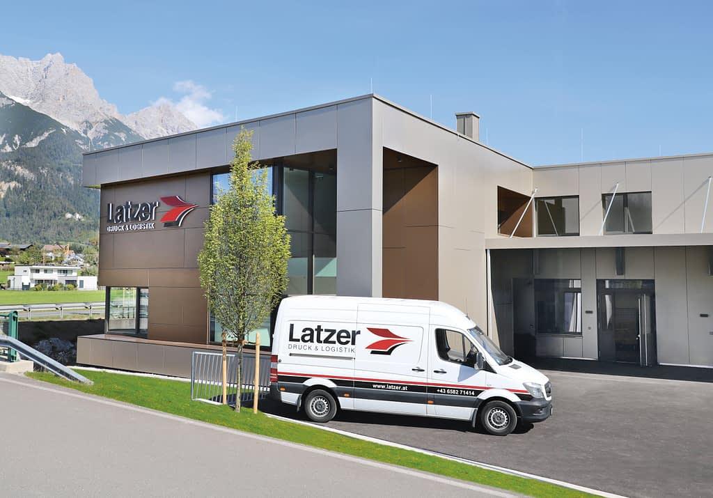 Gebaeude Saalfelden - Latzer Druck & Logistik