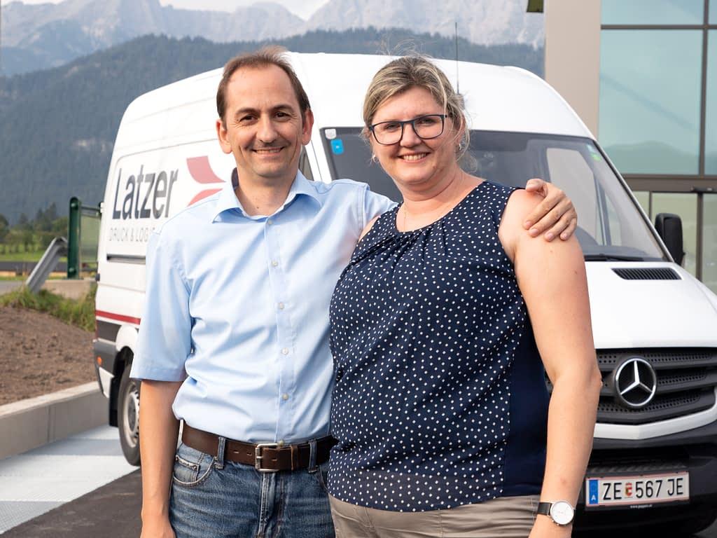 Markus und Martina Latzer